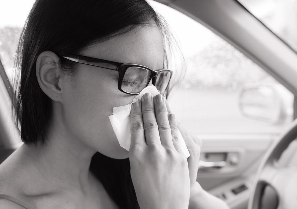 花粉症はドライバーの大敵
