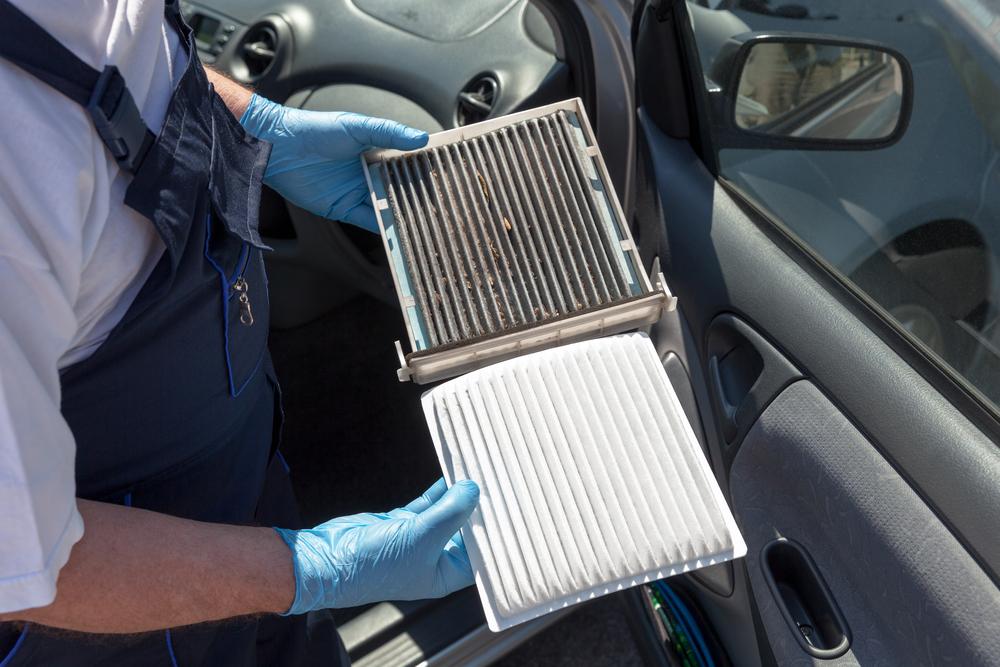 花粉対策ではカーエアコンフィルターの洗浄は必須