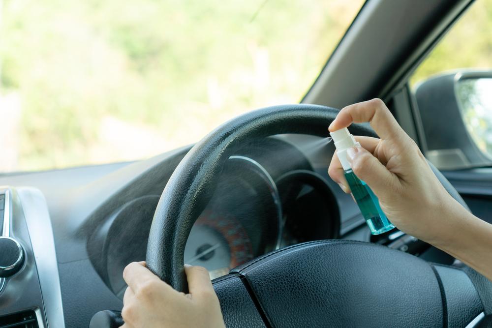 車内の除菌で揃えたいアイテム