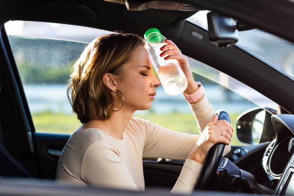 車内温度上昇による被害や注意点を解説