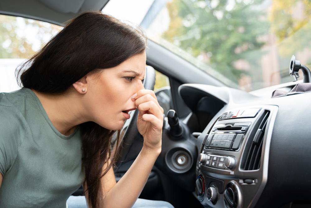 車内が生臭い時の原因とは