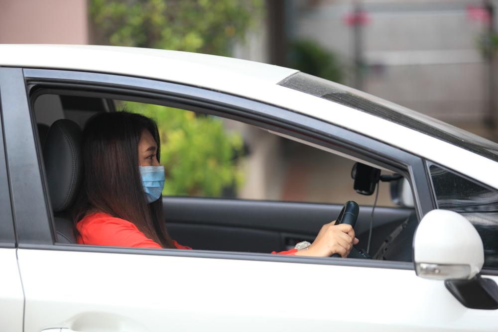 運転中は車内の換気が重要