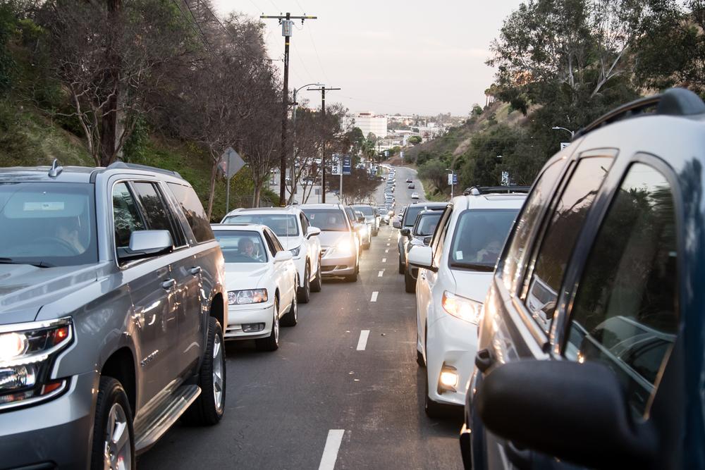 コロナで増加している車移動