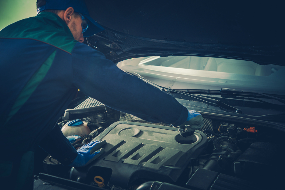 車内がガス臭い時の対処方法