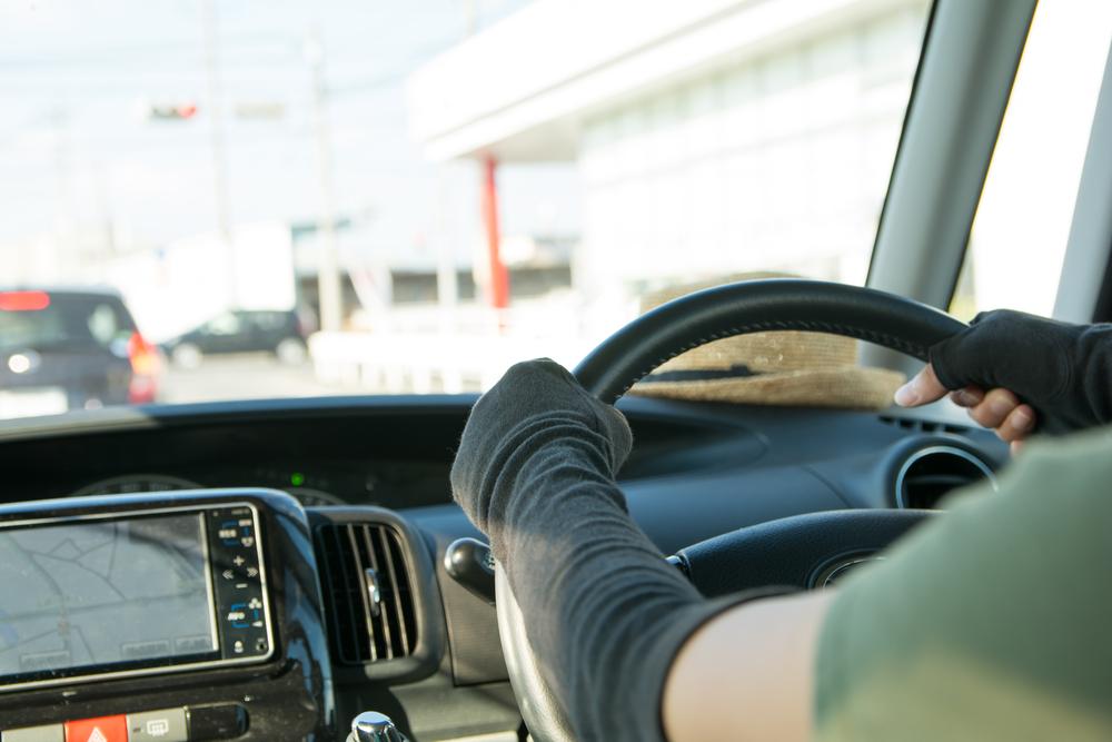 車内の紫外線対策